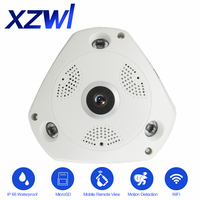 High Quality Wifi 1 3 Megapixel Dome IP Camera 360 Degree View 1 3 CMOS 23