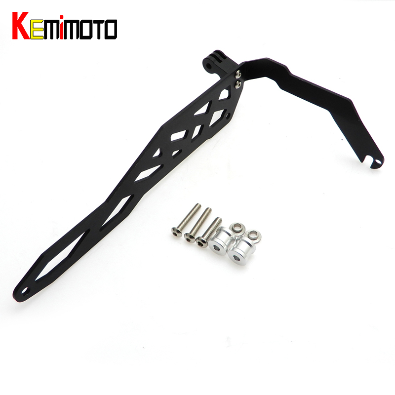 KEMiMOTO R1200GS LC Motorcycle Mount Bracket for Go pro Cam Rack Indicator for BMW R1200GS LC Adventure 2014 2015 2016 цена