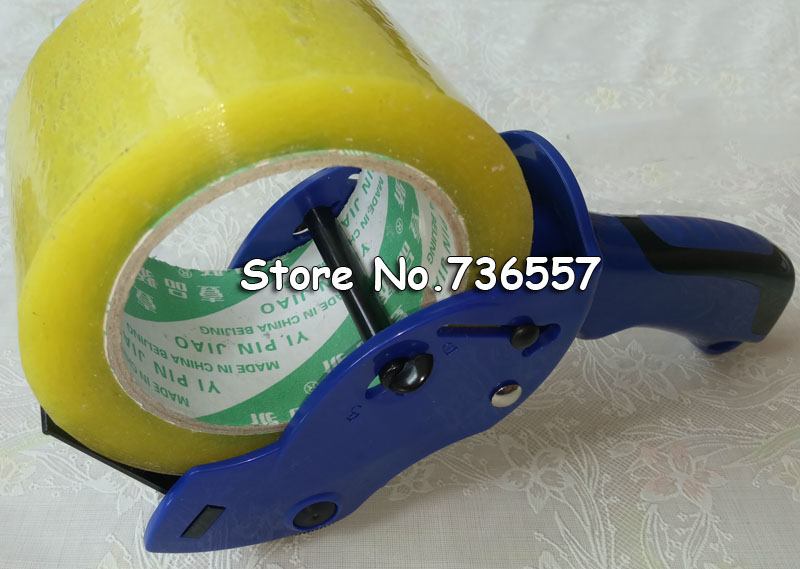 Free Shipping Tape Dispenser sealing device tape cutter deli 803 packager cutting machine 60mm tape Carton Sealer 72 rolls carton box sealing packing shipping package tape 2 x110 yards 330 ft