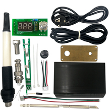 Alloys-Shell Controller Soldering-Station QUICKO Digital Stc T12 LED with Acrylic Transparent-Panel