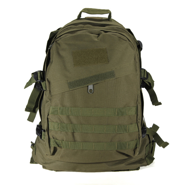 40L Outdoor Military Rucksack Backpack Hiking Camping Trekking Bag - Army Green