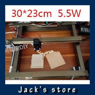5.5 Вт laser_AS-4, 30 см * 23 см, 5500 МВТ большой DIY лазерный гравировальный станок, diy маркировочная машина, diy лазерная гравировка машины, передовые игрушки
