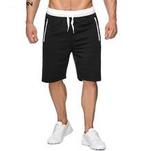 все цены на 2019 Summer Shorts Men Fashion Brand  Breathable Men's Sports Casual Shorts Comfortable Large Size Mens Shorts  Sweat Shorts