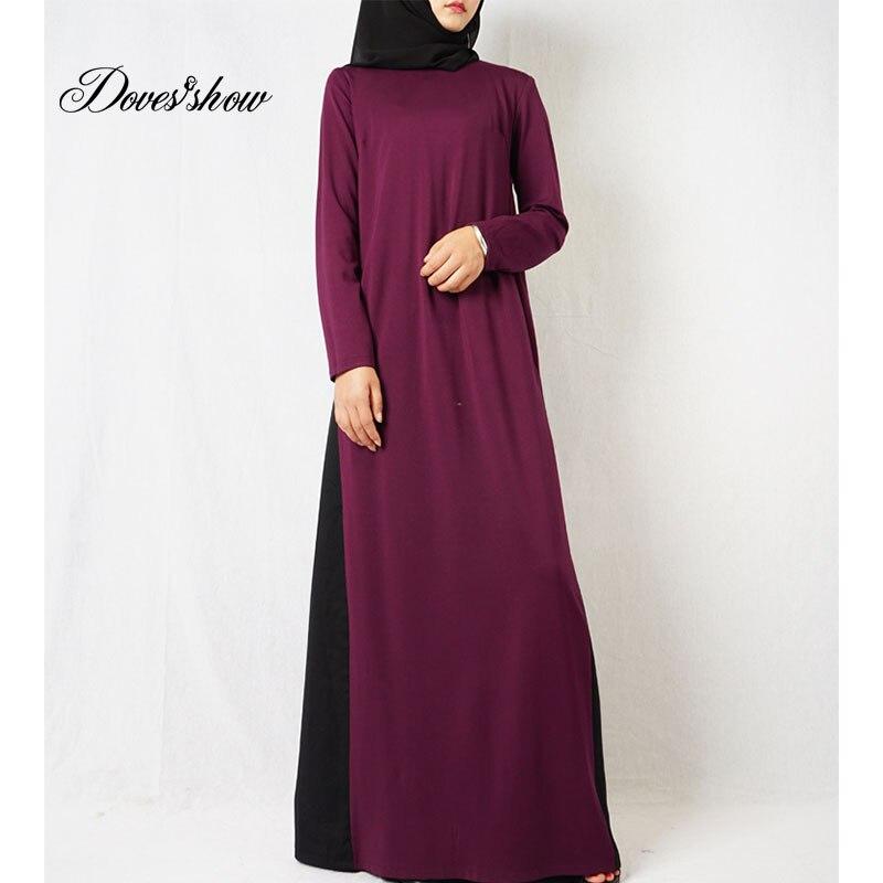 Fashion Muslim Dress Abaya in Dubai Islamic Clothing For Women Jilbab Djellaba Robe Musulmane Turkish Baju Robe Kimono Kaftan 13 Одежда