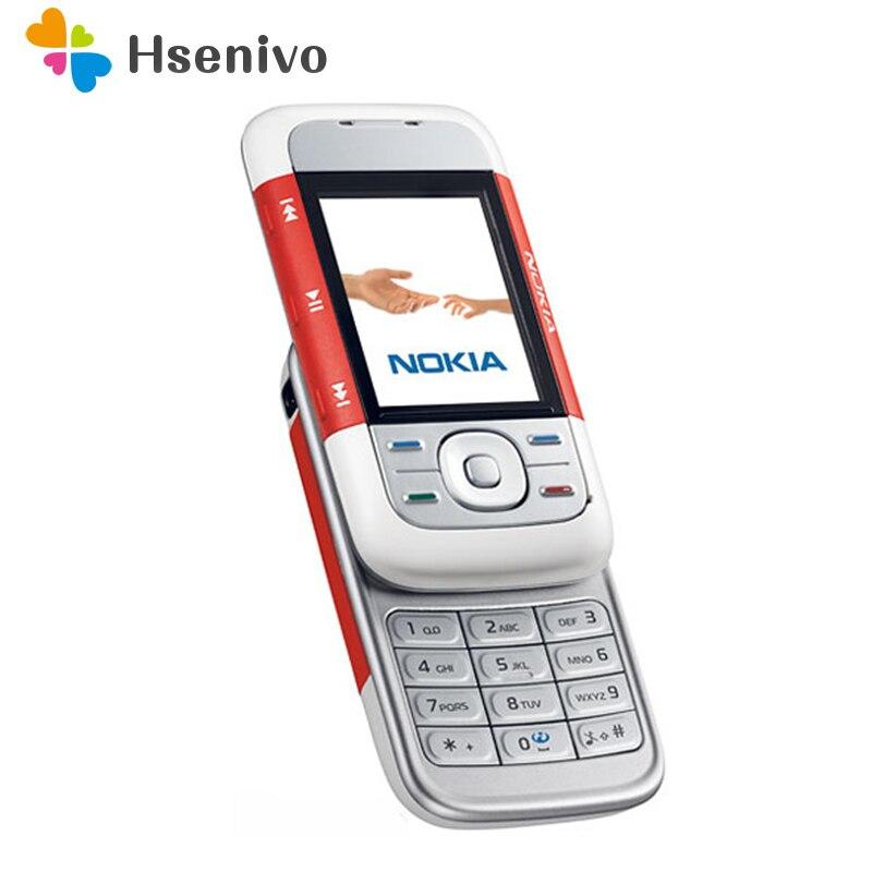 5 pcs/lot D'origine Nokia 5300 Débloqué 2G GSM 900/1800/1900 Mobile Téléphone portable Livraison gratuite