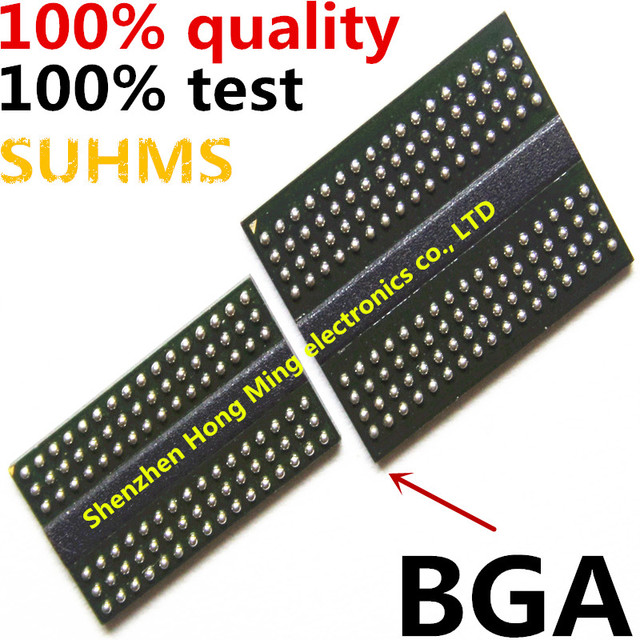(4 unidades) 100% de prueba de K4G41325FC HC03 K4G41325FC HC04 K4G41325FC HC28 Chipset BGA