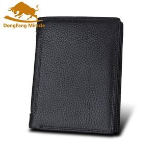 Image 5 - الرجال محفظة لينة حقيقية محفظة جلدية سعة كبيرة محفظة Vintage عملة جيب تتفاعل فرشاة حامل بطاقة محفظة طولية