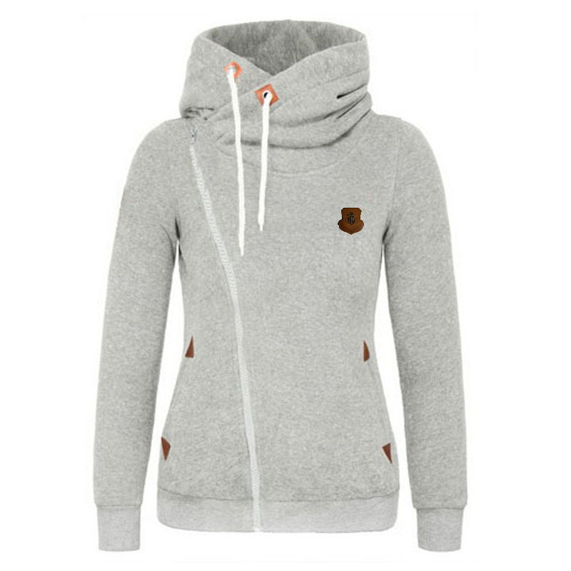 2016 European Fashion Thin Personality Hoodies Women Long sleeved ...