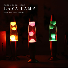 2017 neue Ankunft Metall Basis Wachs Lampe Lava Schmelzen Nachtlicht Kreative Dekoration Licht Quallen Licht Dazzling Lava-lampe