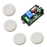 Wireless Remote Light Switch 220 Volts 1CH Remote Control Wireless Relay Switch RF Switch Receiver Transmitter