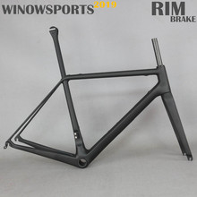 Winowsports new super light T1000 carbon road bike frame Di2 groupset compatible R.5 normal rim brake road racing clamp frameset imlight t1000 50