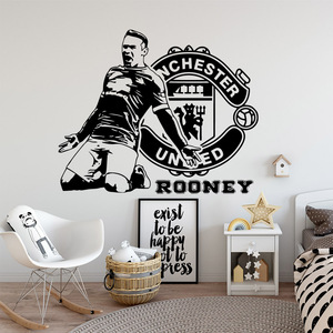 Cartoon Manchester United foot