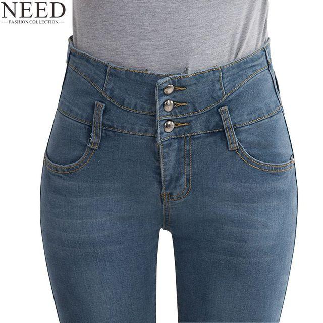 frau d nne hohe taille jeans damen vintage stretch silber. Black Bedroom Furniture Sets. Home Design Ideas