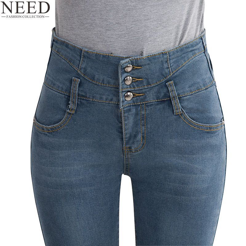 Online Get Cheap Ladies High Waist Jeans -Aliexpress.com | Alibaba ...