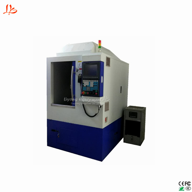 LY 3823 professional jewelry CNC engraving machine tool 5 axis cradle type automatic
