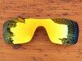 Огненно-Красный Зеркало Поляризованных Сменные Линзы Для Batwolf Солнцезащитные Очки Кадров 100% UVA и UVB Защиты