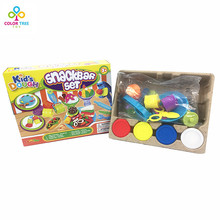 DIY Intelligent Plasticine Creative Fimo Polymer Clay With Mold Tool Kid Education Toys Play Dough Moulds