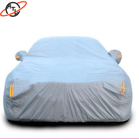 ATL D4k Thicken high density flocking car cover,rain proof snow defence,dust proof hail proof rav4 crown vios prado corolla