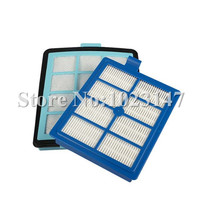 1x Intake Vents HEPA Filter 1x Exhaust Vents Filter For Philips FC8766 FC8767 FC8760 FC8764 Vacuum