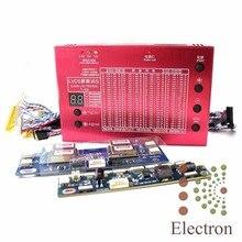 """Laptop TV, LCD/LED Panel Test Alüminyum Kabuk için 7-84 """"ekran Dahili 100 Programları w/LVDS Kablolar & Inverter & LED Kurulu"""