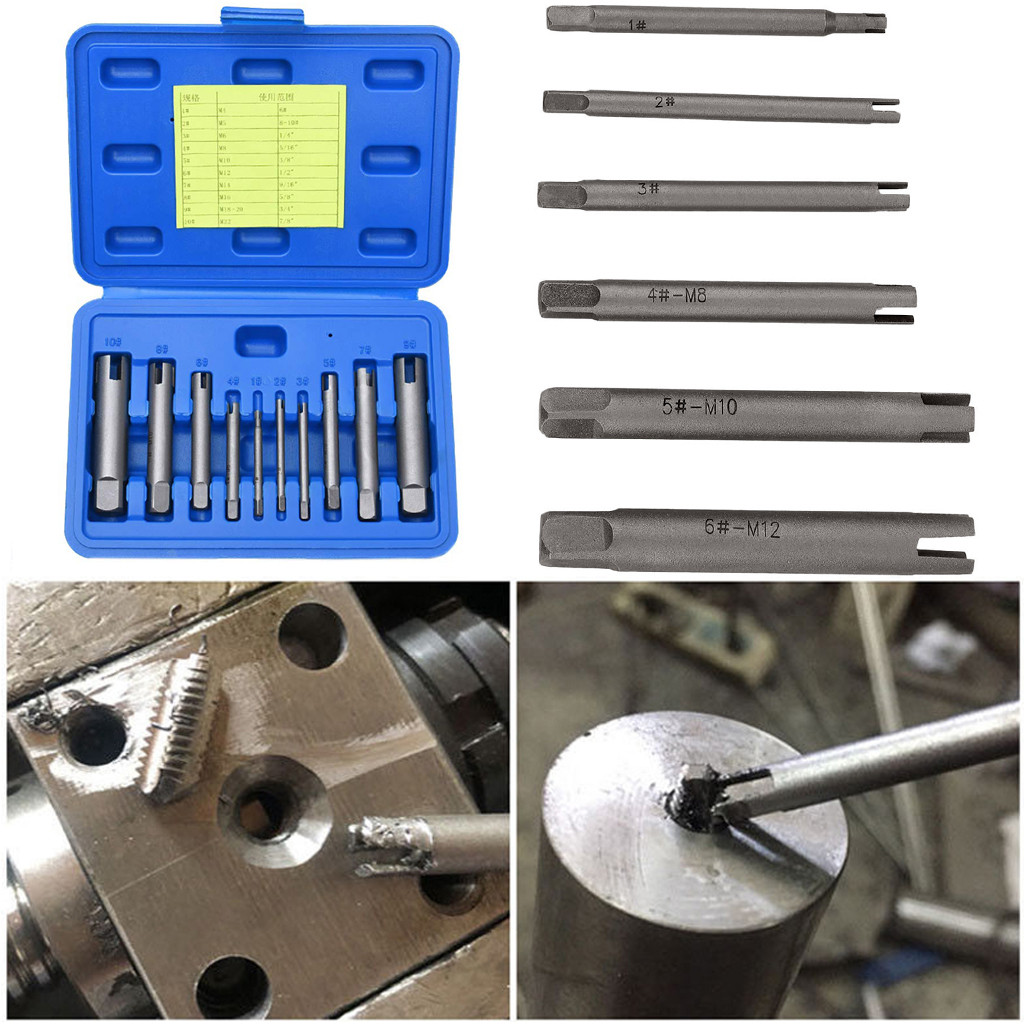Welzh Werkzeug 10-Piece Torx Bit Socket Set LOW PROFILE S2 STEEL T10-T55 SHORT