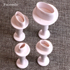 Facemile 4PCS/SET 3D Oval Shape Fondant Cookie Biscuit Cutter Stamp Mold DIY cake molds kitchen tools 03076