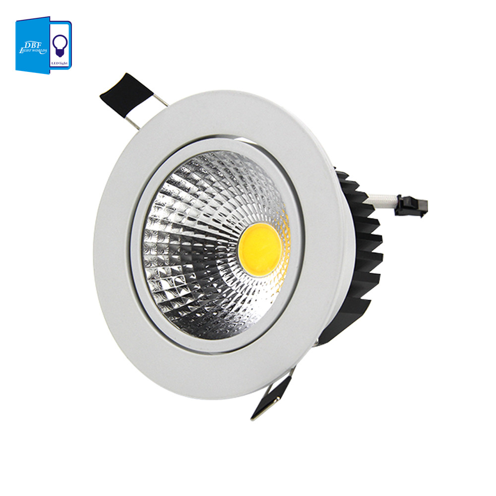 Buy DBF Super Bright Recessed LED Downlight COB 7W 10W LED