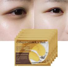 1pair Anti-aging Crystal Collagen Moisture Eye Mask Patches Anti-Wrinkle Remover Patch
