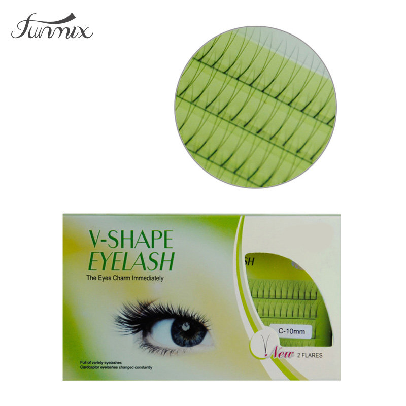 0.15C Nieuwe mode Lash Individuele Valse wimperextensies Mink - Make-up