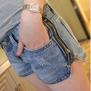 2016 New Arrival Summer Hot Sexy Short Jeans Feminino Pantalones Cortos Mujer Denim Shorts For Women With Zipper Bma121/8036b