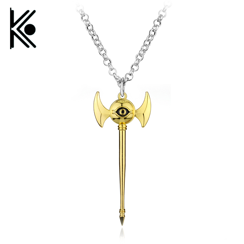 Anime Yugioh Millenium Pendant Egyptian 3D Yu-Gi-Oh Chain long necklace Duel Monsters women or men Jewelry 2 Colors ...