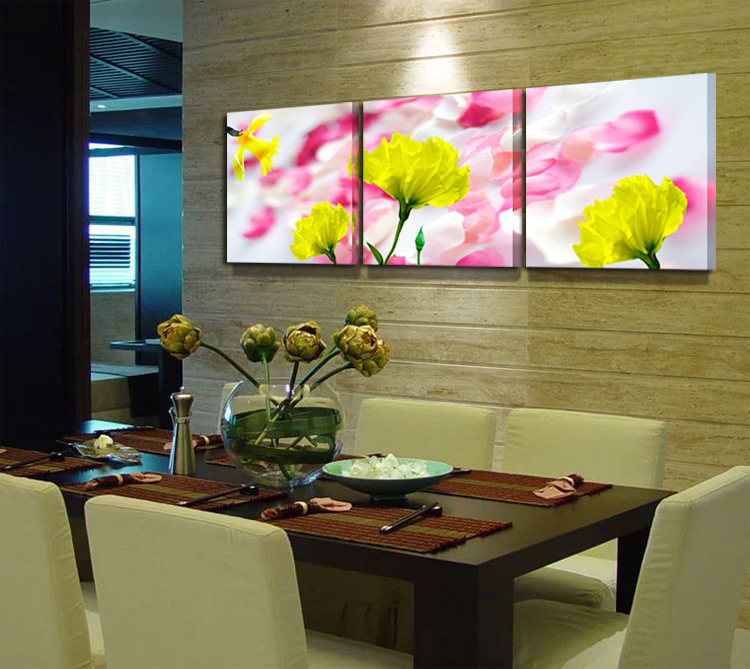 comprar unidades de la pared del arte moderno pinturas murales home decors pintura de moda comedor dormitorio flor decorativa pintura al with pintura para