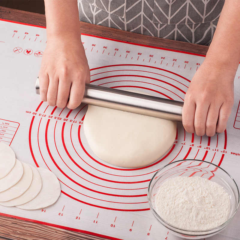 60*40cm Table Silicone Baking Mats Dough Rolling And Cutting Pad Pizza Dough Fondant Cake Pastry Tools