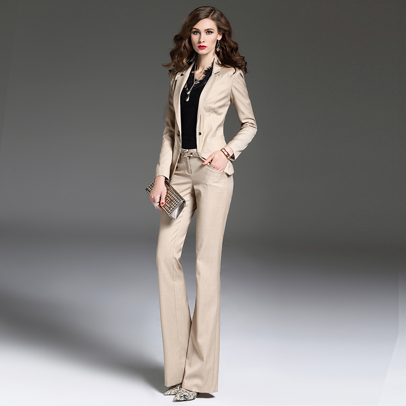 New 2019 Spring Summer Formal Elegant Womens Pants