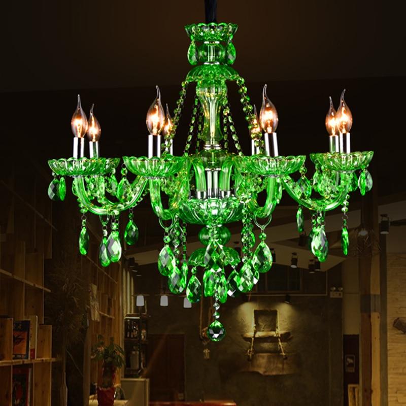 Роскошные K9 Хрустальная люстра моды кристалл лампы люстры де cristal Люстры светодиод для Гостиная или Спальня Освещение блеск