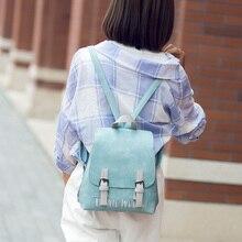Бесплатная доставка новая мода марка женщины рюкзак дамы мешок школы опрятный стиль оптовая цена 100% в натуральном съемки