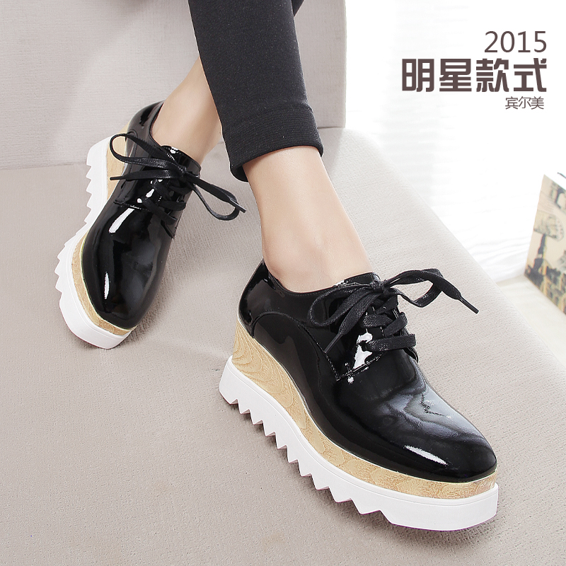 Aliexpress.com : Buy 2016 lace up platform Shoes Star Women Shoes ...