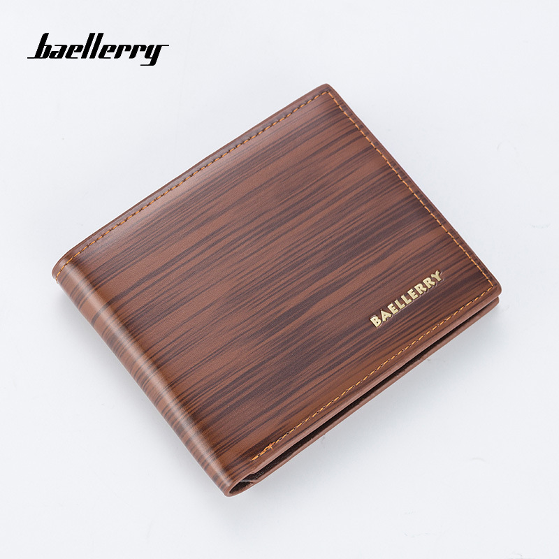Men 39 s Wallet 2019 New Fashion PU Leather With Coin Bag No Zipper Money Purses Dollar Slim Purse New Design Money Wallet 101Q in Wallets from Luggage amp Bags