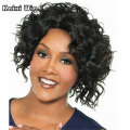 Black African Curly Wigs Short Hair Cheap Synthetic Wigs For Black Women Short Sexy Wig Natural Hair Woman Short Wigs For Blacks