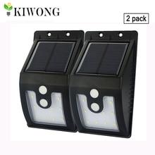 [Neue Version] 10 leds solar licht im freien mit motion sensor solar lampen 300 lumen wasserdicht für garten sicherheit lampe