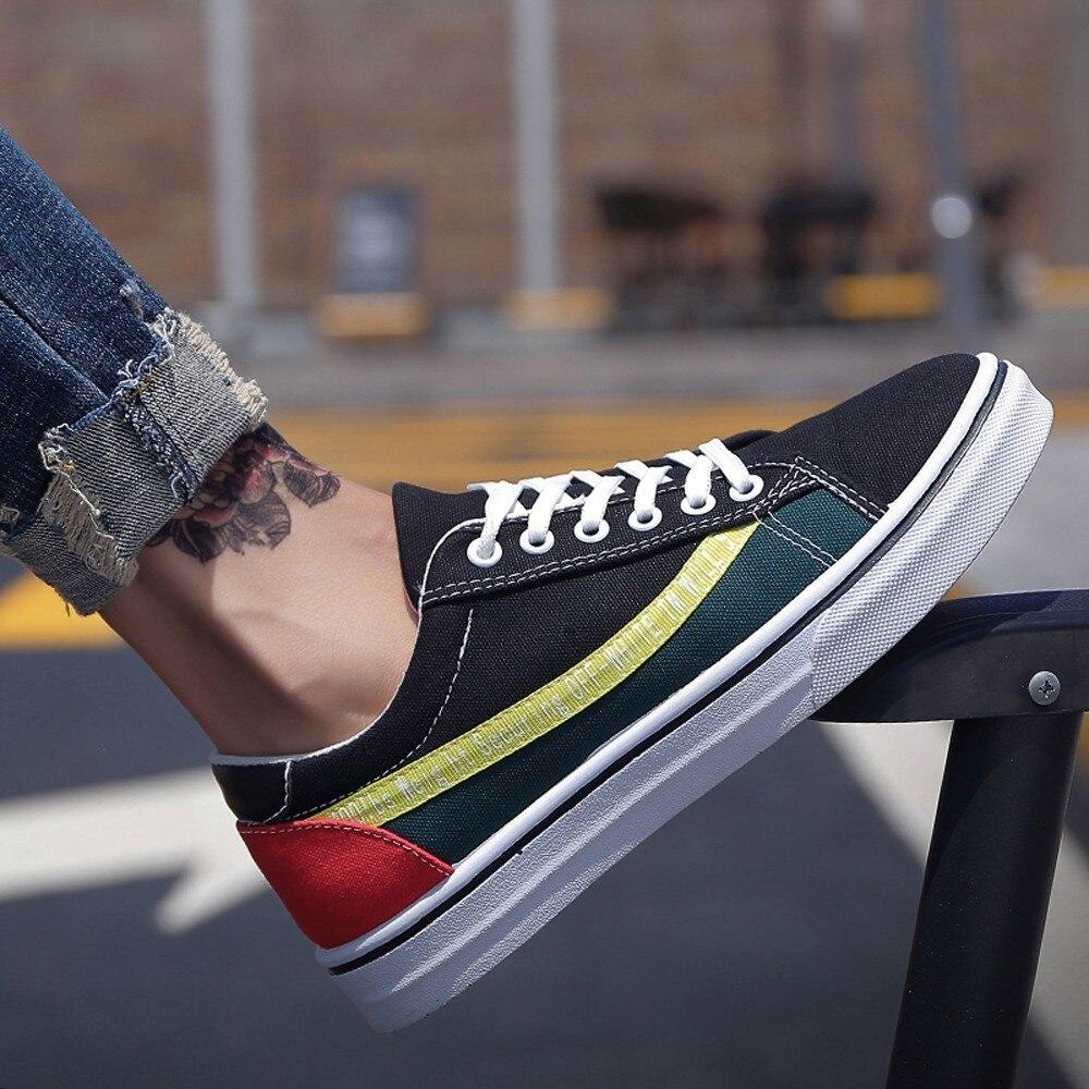 up Moda Verano Caliente Rojo Planos Hombres Del Respirables Negro Black Otoño Masculinos Yellow Nuevos black Hombre Cpcook Lace Ocasionales Zapatos 2018 Green w6dqOPYY