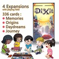 family board game dixit with 336 cards 12 players stable wooden bunnies,free shipping for kids education imagination languag