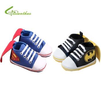 b0b605b7f Новый Супермен детская обувь 2019 Новая Мода Бэтмен мультфильм для малышей детская  обувь 11 см, 12 см, 13 см для маленьких мальчиков обувь первы.