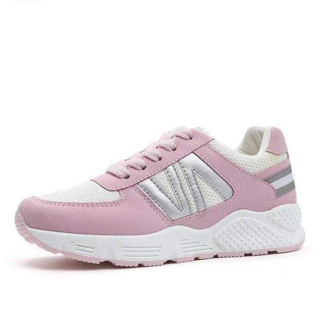 2017 Для Похудения обувь женская мода кожа повседневная обувь женская Фитнес Lady Свинг Обувь Лето Завода, Высокое качество