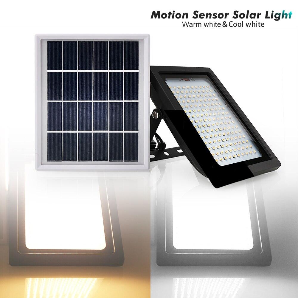 movimento detecção projector lâmpada parede lâmpadas solares
