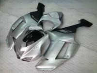 636 Zx 6r 07 Motorcycle Fairing Zx6r 2007 2008 Matter Black Silvery Body Kits Ninja Zx 6r 2007 Full Body Kits