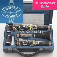 Alto Grado de Clarinete Buffet 1986 B12 17 Tecla Clarinete Apris Crampon clarinet & Cie Con Estuche Negro Tubo de Baquelita Clarinete Musical instrumentos