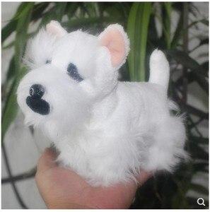 Image 4 - מקורי יפה שנאוצר כלב סימולציה בעלי החיים רך ממולא בפלאש צעצוע לילדים יום הולדת מתנה חבר girlfreind מתנה