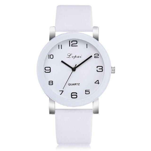 White Quartz Watch