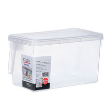 цена на Storage Collecting Box Basket Kitchen Refrigerator storage box with lid food box Fruit Food Organiser Utility